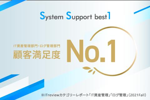 【ニュースリリース】SS1が、IT資産管理製品カテゴリにおいて顧客満足度No.1を獲得しました──ITreivew カテゴリーレポート2021 Fall